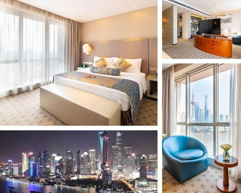 上海外灘飯店上海外灘中南海濱酒店(海灣大廈)