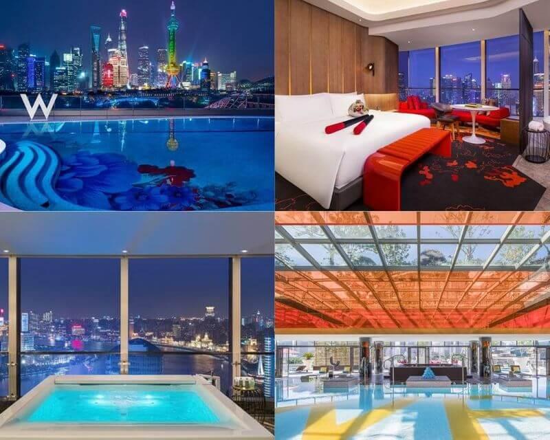 上海外灘飯店上海外灘W酒店 (W Shanghai - The Bund)