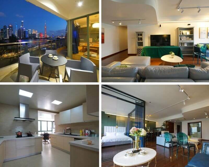 上海外灘飯店上海外灘全景酒店公寓