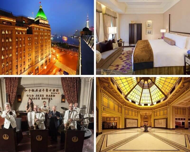 上海外灘飯店和平飯店 (Fairmont Peace Hotel)